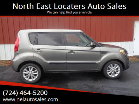 2012 Kia Soul for sale at North East Locaters Auto Sales in Indiana PA