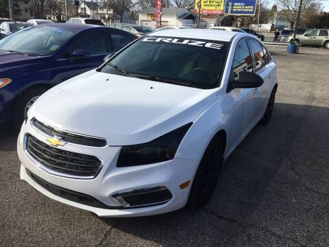 2016 Chevrolet Cruze Limited for sale at Payless Auto Sales LLC in Cleveland OH