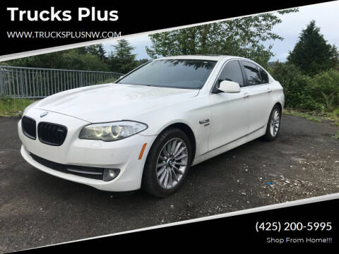 2011 BMW 5 Series for sale at Trucks Plus in Seattle WA