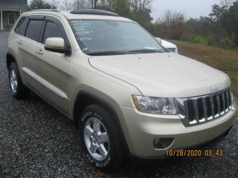 2011 Jeep Grand Cherokee for sale at Judy's Cars in Lenoir NC