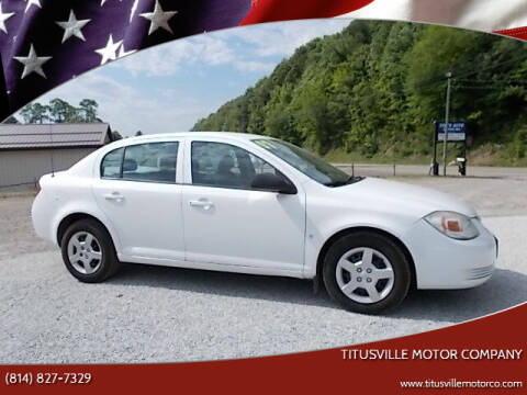2007 Chevrolet Cobalt for sale at Titusville Motor Company in Titusville PA