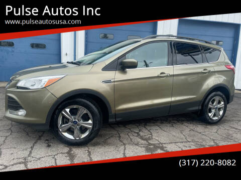 2014 Ford Escape for sale at Pulse Autos Inc in Indianapolis IN
