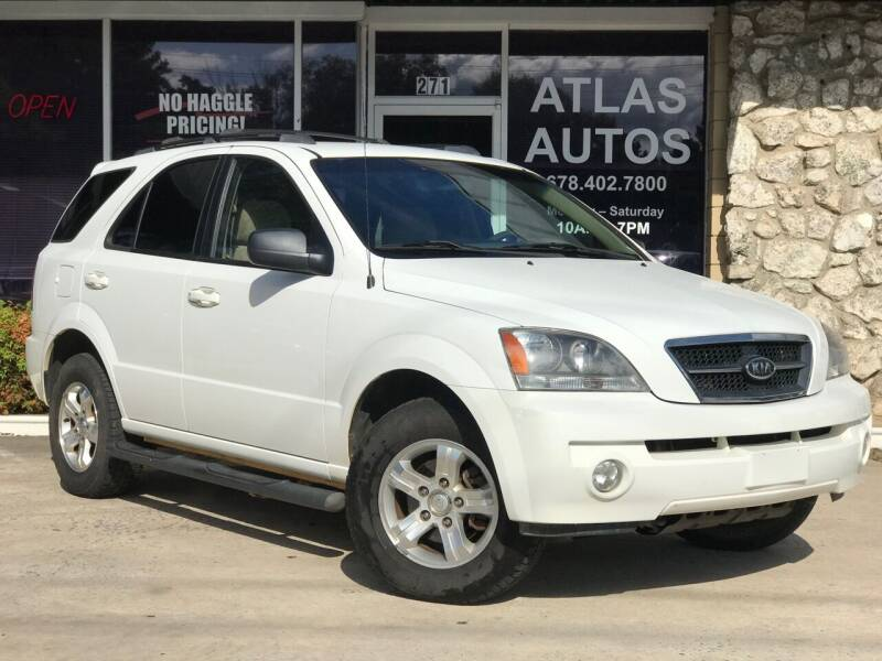 2006 Kia Sorento for sale at ATLAS AUTOS in Marietta GA