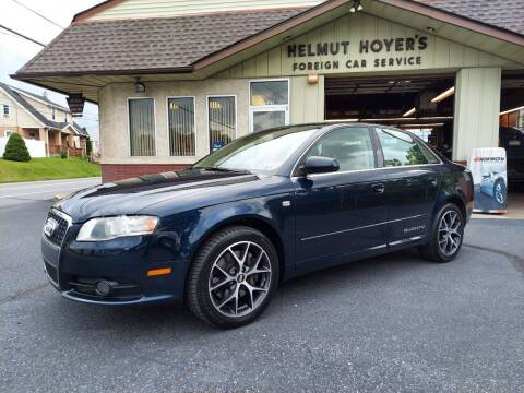 2008 Audi A4 for sale at Helmut Hoyer's Foreign Car Sales & Service in Allentown PA
