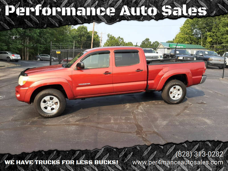 2007 Toyota Tacoma for sale at Performance Auto Sales in Hickory NC
