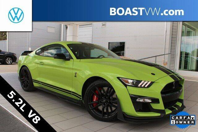2020 Ford Mustang for sale at BOAST MOTORCARS in Bradenton FL