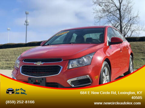 2016 Chevrolet Cruze Limited for sale at New Circle Auto Sales LLC in Lexington KY