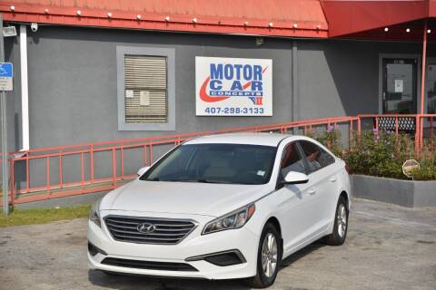 2016 Hyundai Sonata for sale at Motor Car Concepts II - Kirkman Location in Orlando FL