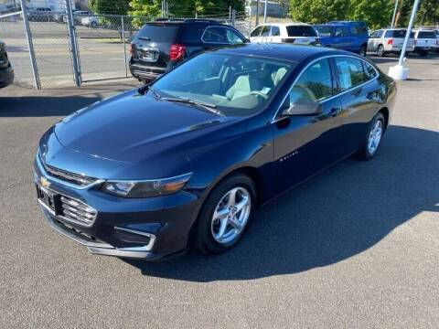 2017 Chevrolet Malibu for sale at TacomaAutoLoans.com in Lakewood WA