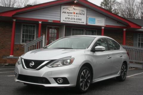 2017 Nissan Sentra for sale at Peach State Motors Inc in Acworth GA