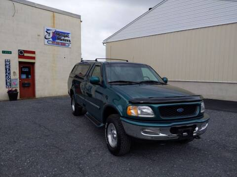 1997 Ford F-150 for sale at J'S MAGIC MOTORS in Lebanon PA