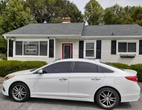 2015 Hyundai Sonata for sale at SIGNATURES AUTOMOTIVE GROUP LLC in Spartanburg SC