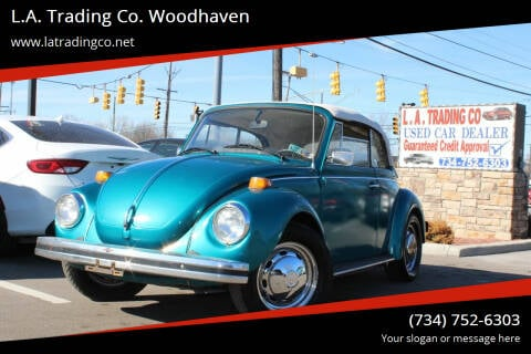 1979 Volkswagen Beetle Convertible for sale at L.A. Trading Co. Woodhaven in Woodhaven MI