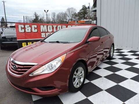 2013 Hyundai Sonata for sale at C & C Motor Co. in Knoxville TN