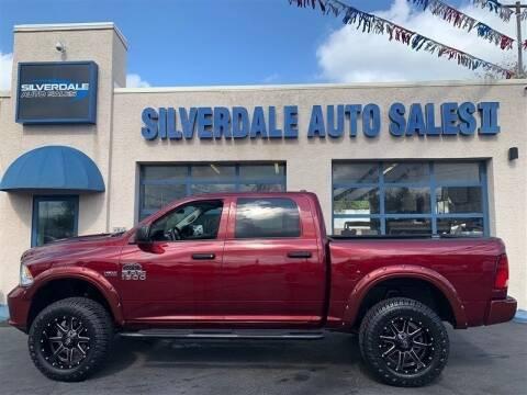 2017 RAM Ram Pickup 1500 for sale at Silverdale Auto Sales II in Sellersville PA