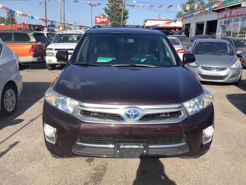 2011 Toyota Highlander Hybrid for sale at GPS Motors in Denver CO