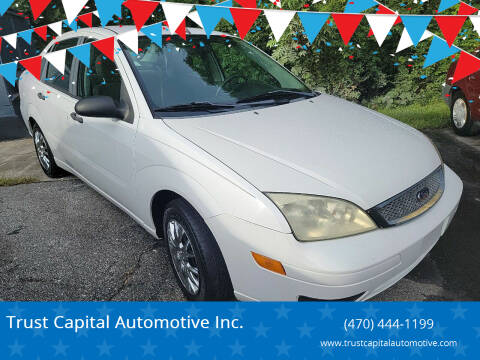 2006 Ford Focus for sale at Trust Capital Automotive Inc. in Covington GA