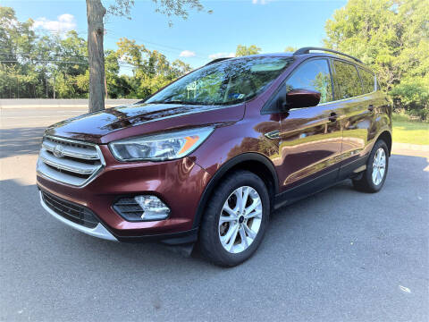 2018 Ford Escape for sale at Ultimate Motors in Port Monmouth NJ