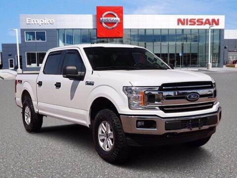 2018 Ford F-150 for sale at EMPIRE LAKEWOOD NISSAN in Lakewood CO