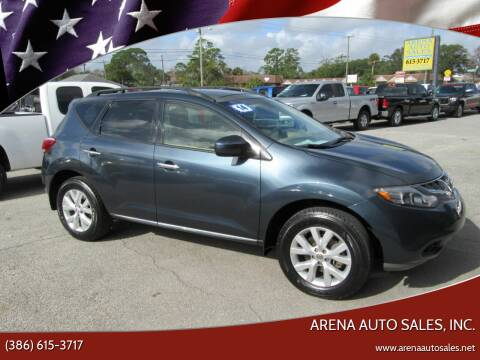 2014 Nissan Murano for sale at ARENA AUTO SALES,  INC. in Holly Hill FL