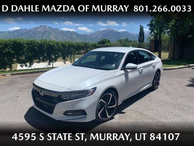 2020 Honda Accord for sale at D DAHLE MAZDA OF MURRAY in Salt Lake City UT