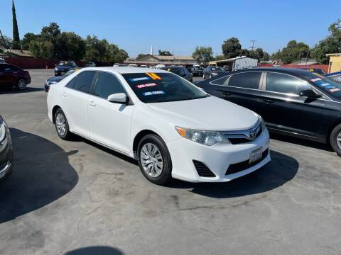2014 Toyota Camry for sale at Mega Motors Inc. in Stockton CA