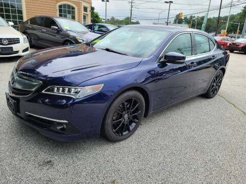 2015 Acura TLX for sale at Car and Truck Exchange, Inc. in Rowley MA