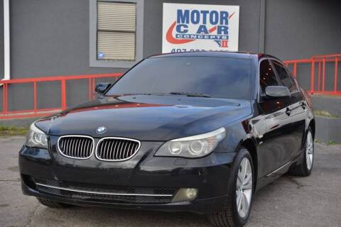2009 BMW 5 Series for sale at Motor Car Concepts II - Colonial Location in Orlando FL