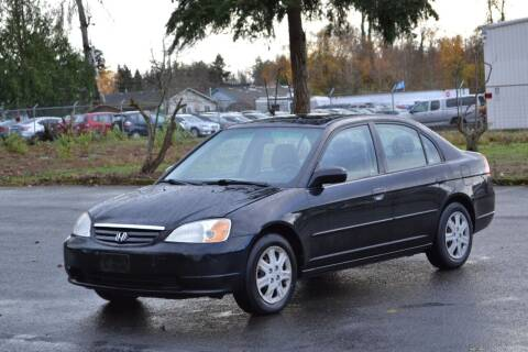 2003 Honda Civic for sale at Skyline Motors Auto Sales in Tacoma WA