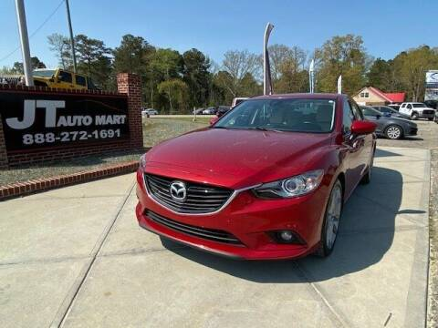 2014 Mazda MAZDA6 for sale at J T Auto Group in Sanford NC