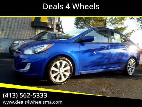 2013 Hyundai Accent for sale at Deals 4 Wheels in Westfield MA