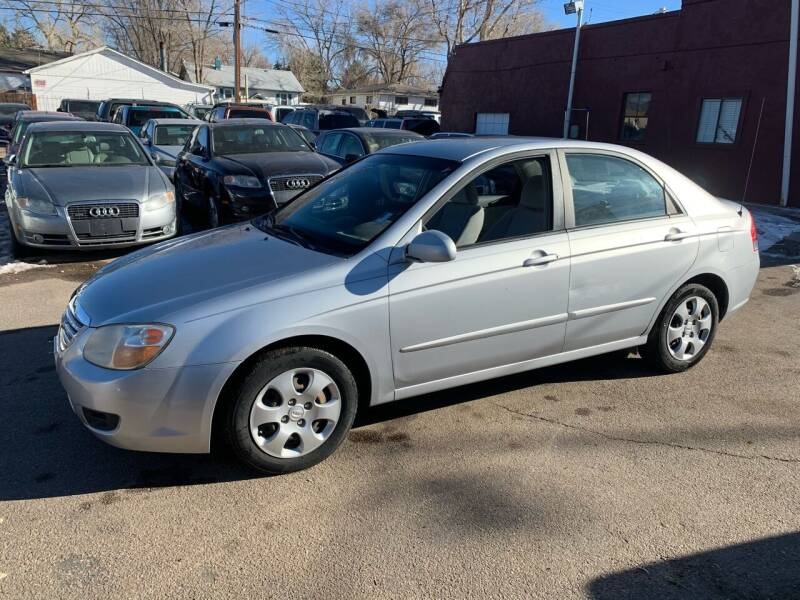 2007 Kia Spectra for sale at B Quality Auto Check in Englewood CO
