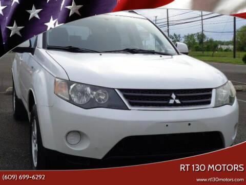 2008 Mitsubishi Outlander for sale at RT 130 Motors in Burlington NJ