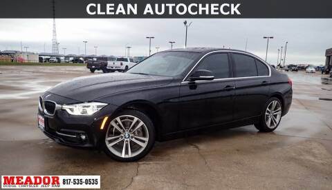 2017 BMW 3 Series for sale at Meador Dodge Chrysler Jeep RAM in Fort Worth TX