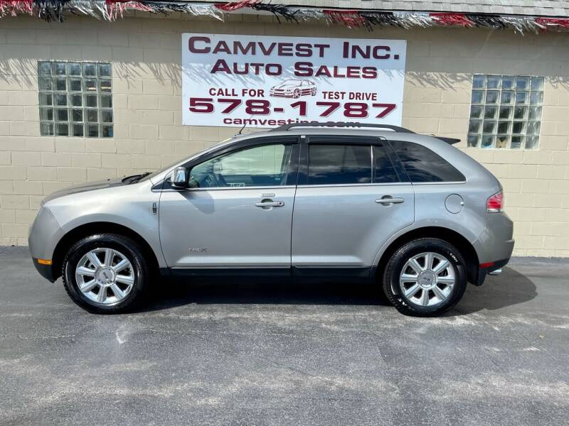 2008 Lincoln MKX for sale at Camvest Inc. Auto Sales in Depew NY