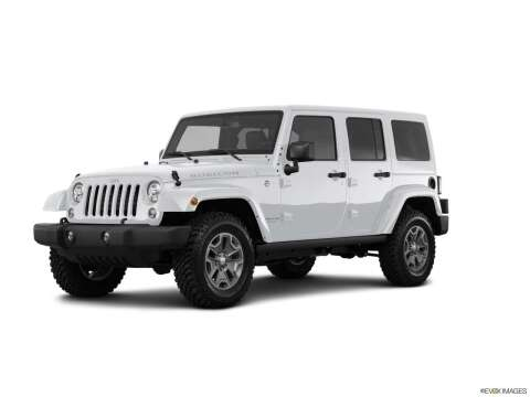 2017 Jeep Wrangler Unlimited for sale at West Motor Company in Hyde Park UT