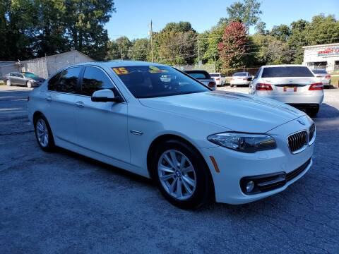 2015 BMW 5 Series for sale at Import Plus Auto Sales in Norcross GA