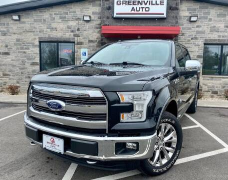 2015 Ford F-150 for sale at GREENVILLE AUTO in Greenville WI