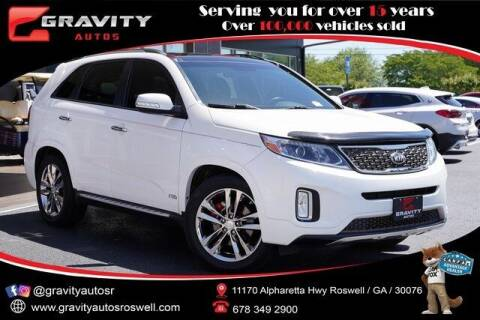 2014 Kia Sorento for sale at Gravity Autos Roswell in Roswell GA