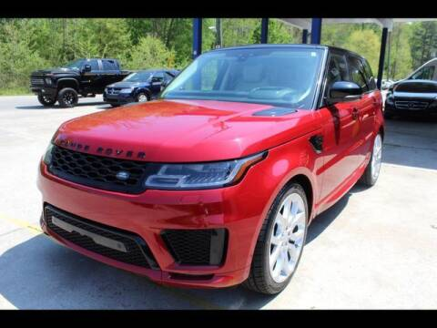 2018 Land Rover Range Rover Sport for sale at Inline Auto Sales in Fuquay Varina NC