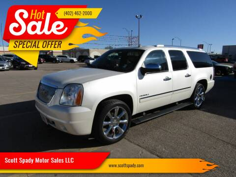 2010 GMC Yukon XL for sale at Scott Spady Motor Sales LLC in Hastings NE