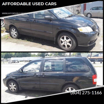 2001 Mazda MPV for sale at AFFORDABLE USED CARS in Richmond VA