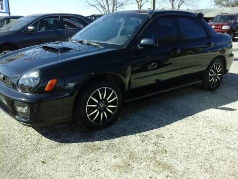 2002 Subaru Impreza for sale at John 3:16 Motors in San Antonio TX