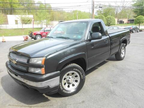 2005 Chevrolet Silverado 1500 for sale at AUTOS-R-US in Penn Hills PA