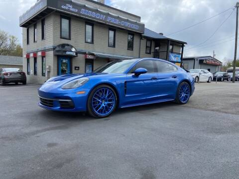 2018 Porsche Panamera for sale at Sisson Pre-Owned in Uniontown PA