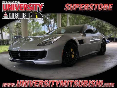 2019 Ferrari GTC4Lusso T for sale at FLORIDA DIESEL CENTER in Davie FL
