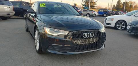 2012 Audi A6 for sale at I-80 Auto Sales in Hazel Crest IL