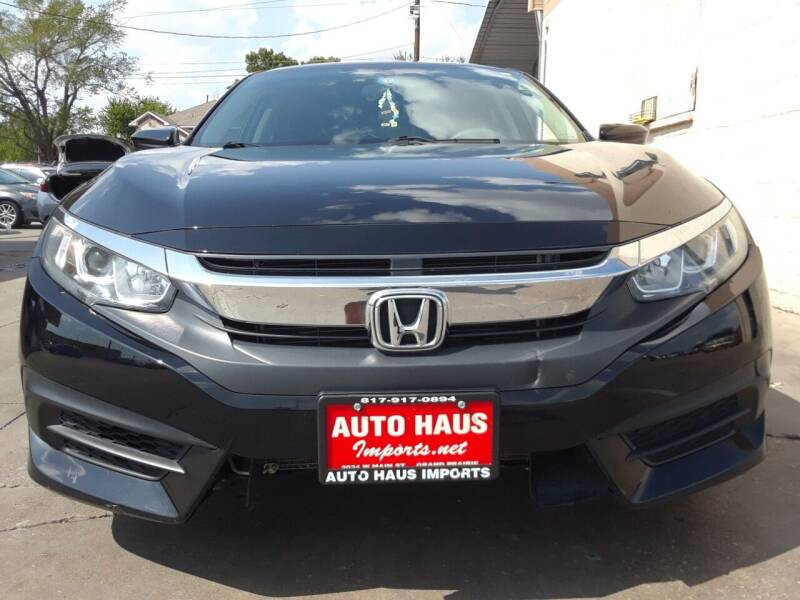 2016 Honda Civic for sale at Auto Haus Imports in Grand Prairie TX