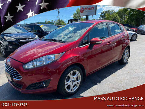 2014 Ford Fiesta for sale at Mass Auto Exchange in Framingham MA