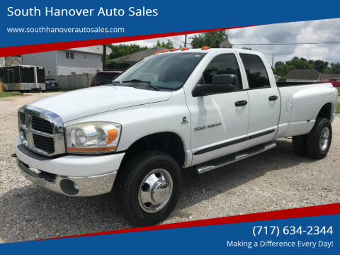 2006 Dodge Ram Pickup 3500 for sale at South Hanover Auto Sales in Hanover PA